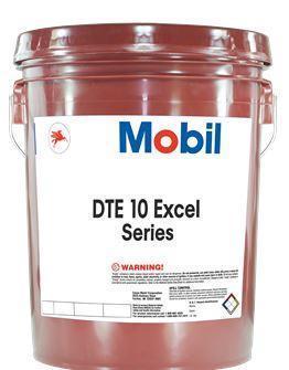 Серия MOBIL DTE 10 EXCEL 15, 32, 46, 68, 100 - это высокоэффективные гидравлические масла