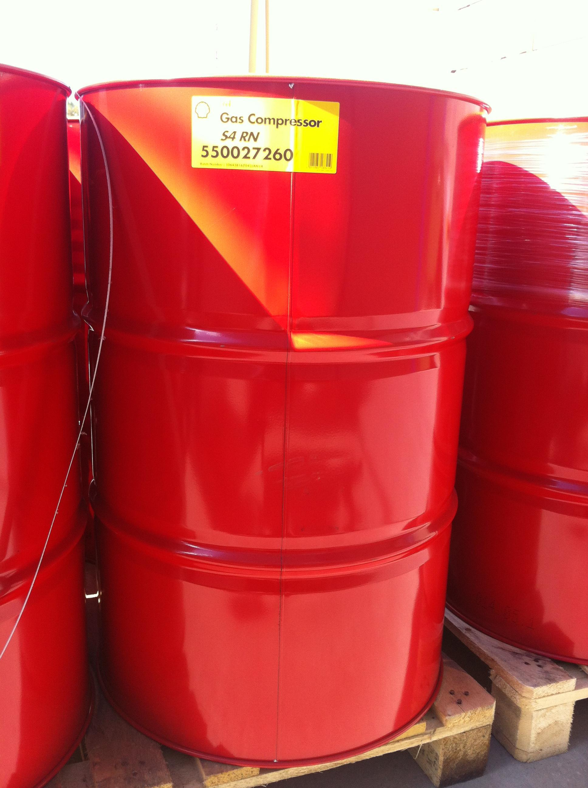 Масло Shell Gas Compressor Oil S4 RN 68 специально разработано для смазывания ротационных винтовых компрессоров, компримирующих природный и другие газы при низком давлении.