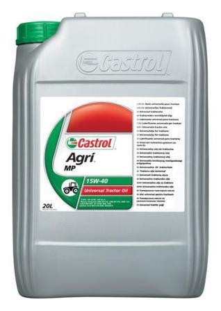 Castrol Agri MP 15W-40 - универсальное масло для сельскохозяйственной техники