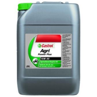 Castrol Agri Power Plus 15W-40 - моторное масло для сельскохозяйственной и внедорожной техники.