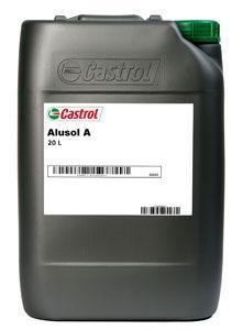 СОЖ Castrol Alusol A применяется от легкой до тяжелой обработки алюминиевых сплавов.