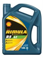 Shell Rimula R5 LE 10W-30 - это синтетическое масло для дизельных двигателей тяжёлой техники.