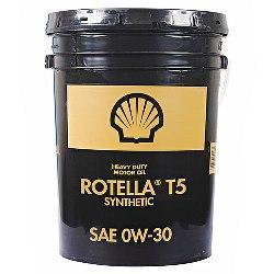 Shell Rotella T5 0W-30 - это масло на синтетической основе для арктического климата.