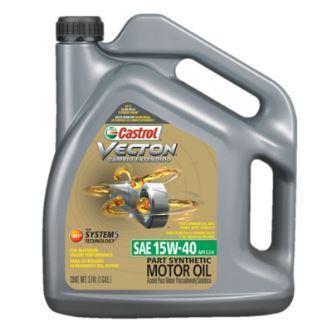 Castrol Vecton 15W-40 - моторное масло для дизельных двигателей коммерческой техники европейских и американских производителей.