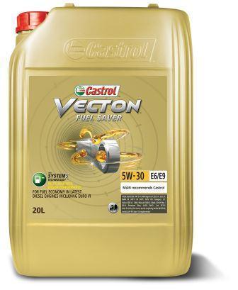 Castrol Vecton Fuel Saver 5W-30 E6/Е9 - полностью синтетическое моторное масло со сниженной зольностью