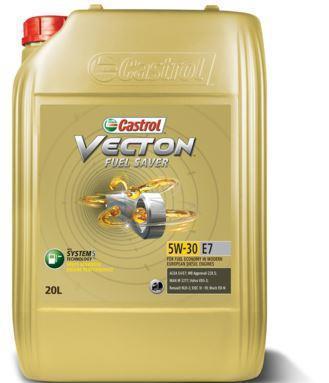 Castrol Vecton Fuel Saver 5W-30 E7 - это полностью синтетическое моторное масло для современных европейских дизельных двигателей коммерческой техники