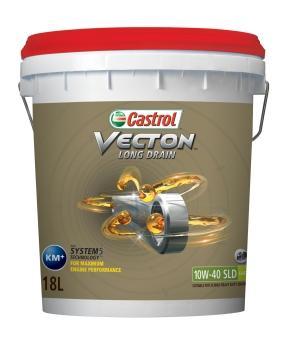 Castrol Vecton Long Drain 10W-40 SLD - это полностью синтетическое моторное масло