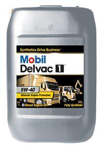 Mobil Delvac 1 5W-40 - это синтетическое масло с высочайшими эксплуатационными характеристиками для дизельных двигателей