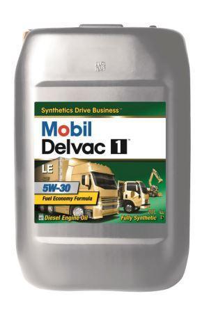 Mobil Delvac 1 LE 5W-30 - это полностью синтетическое моторное масло для тяжело нагруженных дизельных двигателей.