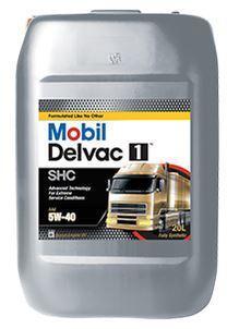 Mobil Delvac 1 SHC 5W-40 - это синтетическое моторное масло
