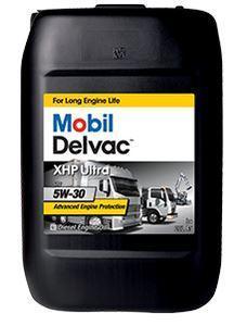 Синтетическое моторное масло Mobil Delvac XHP Ultra 5W-30 разработано для дизелей без и с турбонаддувом