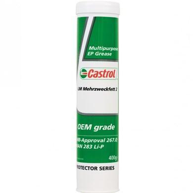 Castrol LM Mehrzweckfett 2 - многоцелевая пластичная смазка с противозадирными присадками (EP)