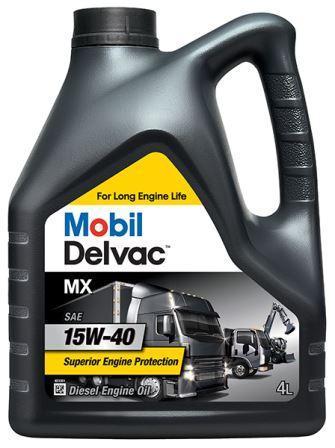 Mobil Delvac MX 15W-40 - минеральное моторное масло для дизельных двигателей