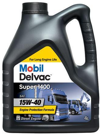 Mobil Delvac Super 1400E 15W-40 - это высококачественное масло для дизельных двигателей