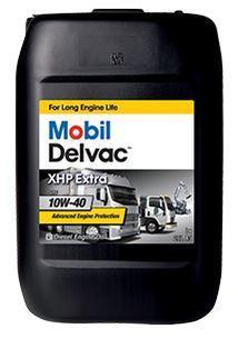 Масло Mobil Delvac XHP Extra 10W-40 разработано для высокомощных дизельных двигателей