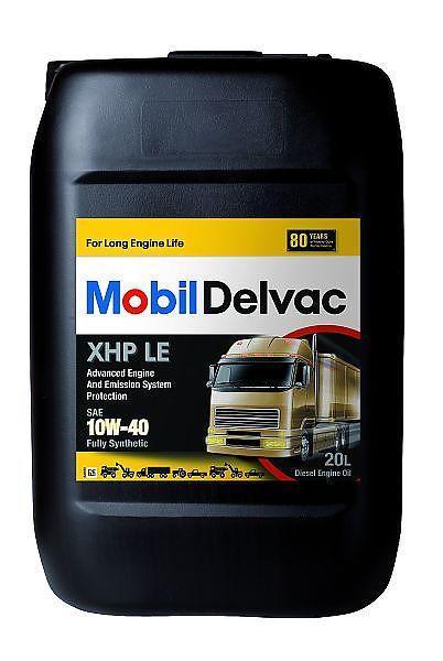 Mobil Delvac XHP LE 10W-40 - это синтетическое моторное масло для дизельных двигателей