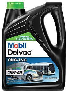 Mobil Delvac CNG/LNG 15W-40 - это моторное масло для газовых двигателей