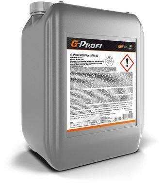 G-Profi MSI Plus 15W-40 – минеральное масло для дизелей с турбонаддувом экологического класса до Евро-4 включительно !