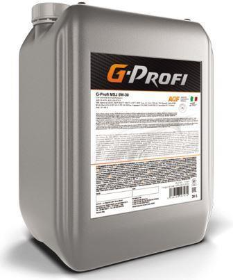 G-Profi MSJ 5W-30 - всесезонное энергосберегающее синтетическое моторное масло !