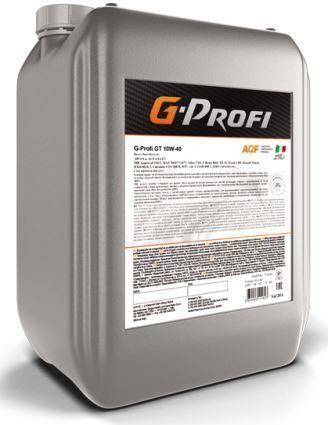 G-Profi GT 10W-40 – синтетическое масло для высокофорсированных дизельных двигателей с турбонаддувом !