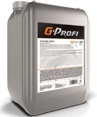 G-Profi MSJ 10W-30 - всесезонное моторное масло с пониженным содержанием серы !