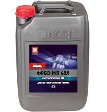 Полусинтетическая смазочно-охлаждающая жидкость Лукойл Фрео МП 65Л в канистре 18 л / 16,2 кг