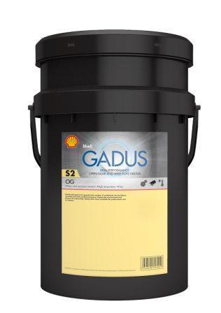 Shell Gadus S2 OG 40 - это пластичная смазка для открытых зубчатых передач и канатов