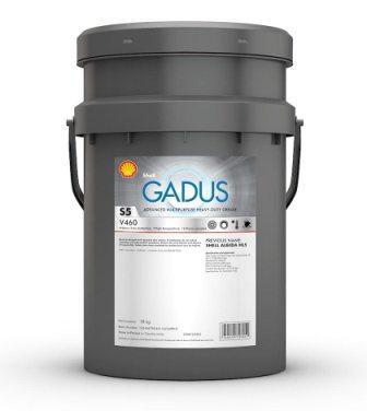 Shell Gadus S5 V460 00 - это многоцелевая литий-комплексная смазка для разнообразных подшипников