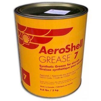 AeroShell Grease 7 - это авиационная многоцелевая пластичная смазка