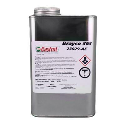 Castrol Brayco 363 – это индустриальное масло общего назначения, применяемое при температурах от –54 °C до 122 °C