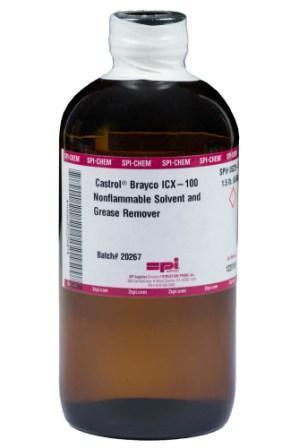 Castrol Brayco IC X-100 - растворитель для удаления перфторированных и других галогенированных смазочных материалов