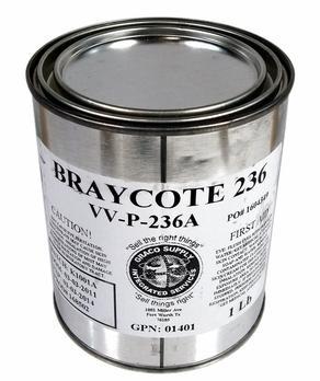 Castrol Braycote 236 - это мягкий, красновато-коричневый смазочный технический вазелин