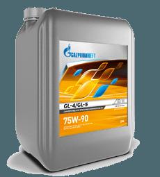 Gazpromneft GL-4/GL-5 75W-90 – это синтетическое всесезонное трансмиссионное масло универсального применения