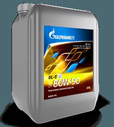Gazpromneft GL-5 80W-90 - это минеральное масло для узлов трансмиссии подверженных высоким нагрузкам