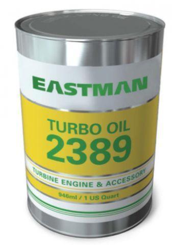 Eastman Turbo Oil 2389 - это синтетическое углеводородное масло для авиационных газовых турбинных двигателей