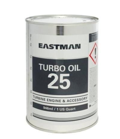 Eastman Turbo Oil 25 - это масло для газотурбинных двигателей и вспомогательных агрегатов вертолётной техники