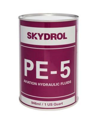 Skydrol PE-5 - это огнестойкая авиационная гидравлическая жидкость класса Type V
