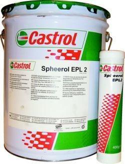 Castrol Spheerol EPL 2 – это литиевая индустриальная смазка для подшипников качения и скольжения