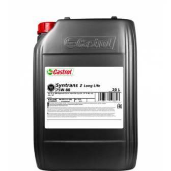Castrol Syntrans Z Long Life 75W-80 – это синтетическое трансмиссионное масло для коробок передач ZF