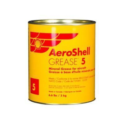 AeroShell Grease 5 – авиационная многоцелевая пластичная смазка.