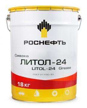 Роснефть Литол-24 (ведро 18 кг) - многоцелевая литиевая смазка
