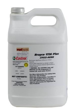 Castrol Brayco 1726 and 1727 Plus – это перфторэфирные смазочные масла для насосов и редукторов.
