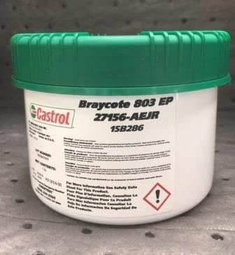 Castrol Braycote 803 EP - вакуумная высокотемпературная смазка
