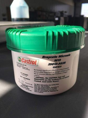 Castrol Braycote Micronic 1613 - перфторэфир, субмикронная смазка.