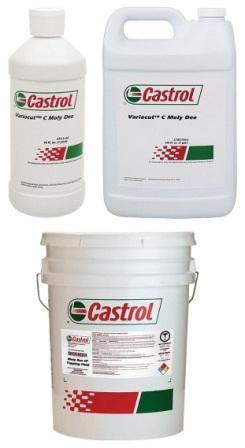 Castrol Variocut C Moly Dee – высокоэффективная жидкость для нарезания резьбы.