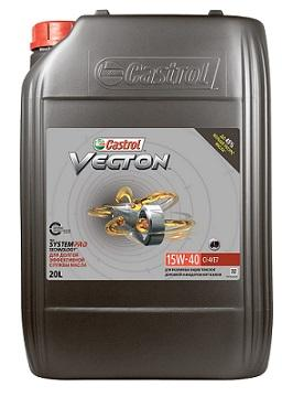 Castrol Vecton 15W-40 CI-4/E7 – это передовое минеральное масло для тяжелого режима работы дизельных двигателей