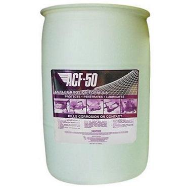 Lear Chemical Research ACF-50 – 114 Liter Drum – антикоррозионный смазочный состав для аэрокосмической промышленности.