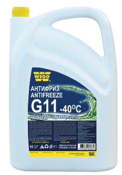 WEGO Antifreeze G11 Ultra Green – готовая к применению охлаждающая жидкость (антифриз)